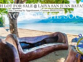 BEACH LOT FOR SALE @ LAIYA, SAN JUAN, BATANGAS, PHILIPINES $74.236
