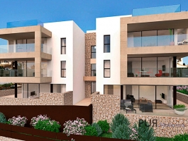 Sant Agusti - New apartments with true luxury. Small plant. Great sea view.