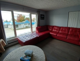 4.5 for rent semi-furnished