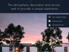Luxury and nature combine at Motmot to give you the best experience of your life.