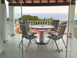 Portals nous. Apartment with sea - panoramic view. 3 bedrooms. In the middle of the southwest hotspot.