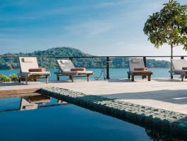 Phuket quality real estate presents this beautiful waterfront villa