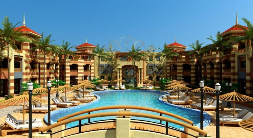 We have 20 apartments ready to move in directly overlooking the pool