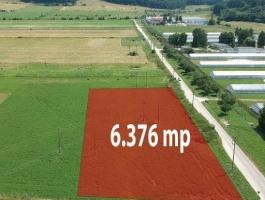 The land has a total surface area of 6376sqm