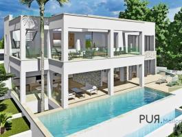 Santa Ponsa. New build villa. 2020 ready. Great view over the bay.