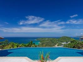 LUXURY ESTATE - SURIN - with breathtaking view over SURIN and BANGTAO BAY.