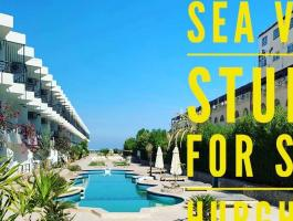 Studio & 1 bedroom apartments with sea views for sale brand new