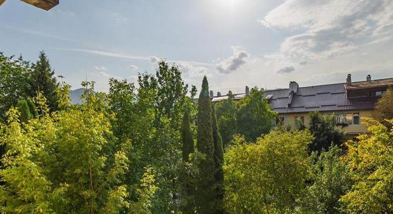 Elegance on a villa basis, small own garden, Brasov