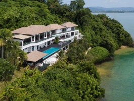 Phuket quality real estate offers this grand top class villa